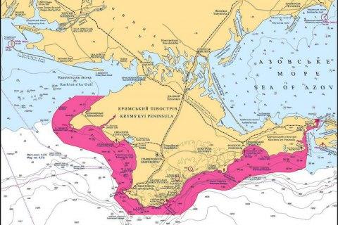 Вокруг Крыма предложили создать морской режимный район
