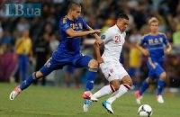 Он-лайн-трансляція матчу Англія - Україна