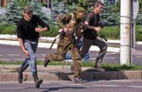 40 бойовиків захопили школу в Донецьку