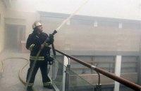 Сотрудников Минфина в Киеве эвакуировали из-за пожара (обновлено)