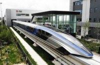 Китай показав поїзд на магнітній подушці зі швидкістю 600 км/год