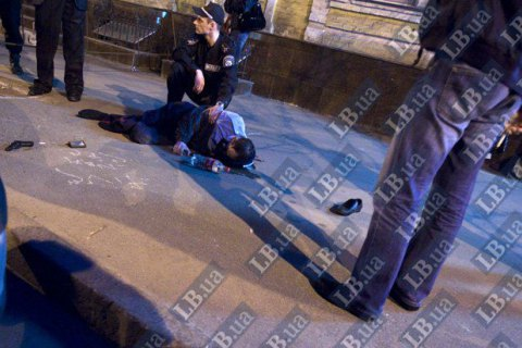 Участковый полицейский в Черкасской области ранил грабителя при задержании