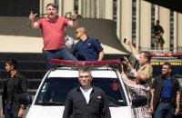 Президент Бразилии вышел на акцию против ограничений из-за коронавируса
