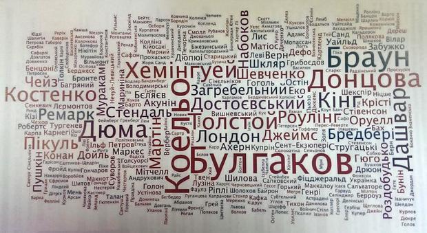 Фото карти з презентації результатів дослідження Книжкової платформи