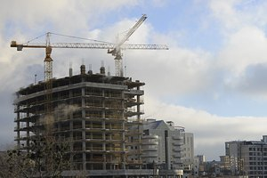 За 4 месяца количество стройработ увеличилось на 11,6%