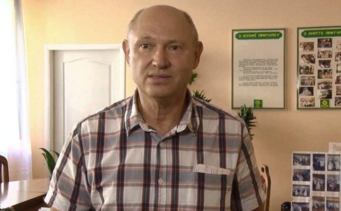 Директор приюта Леонид Матвийчук
