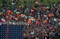 На антиисламский митинг в Дрездене вышли 10 тыс. человек