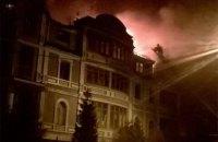 В занятом националистами киевском доме возник пожар (обновлено)