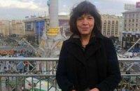 На Майдан снова приехала депутат Европарламента Ребекка Хармс