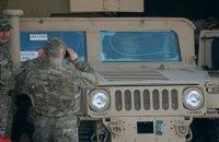 До Одеси прибула партія Hummer для Збройних сил України