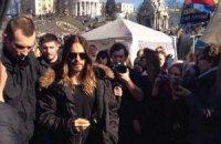"""На Майдан приїхав актор, який підтримав Україну на церемонії """"Оскар"""""""