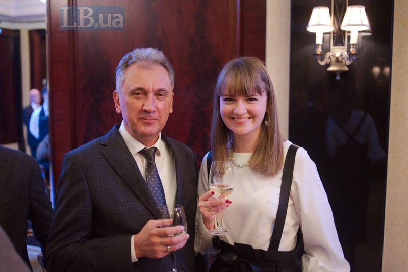 Виктор Черний и Екатерина Блинда