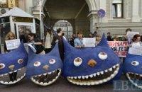 Под Киевсовет завтра придут защитники Гостиного двора