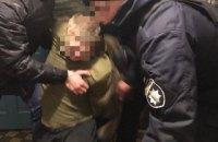 На Київщині чоловік вдарив поліцейського викруткою в обличчя