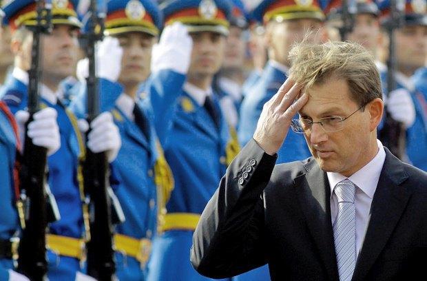 Словенський прем'єр-міністр Міро Церар