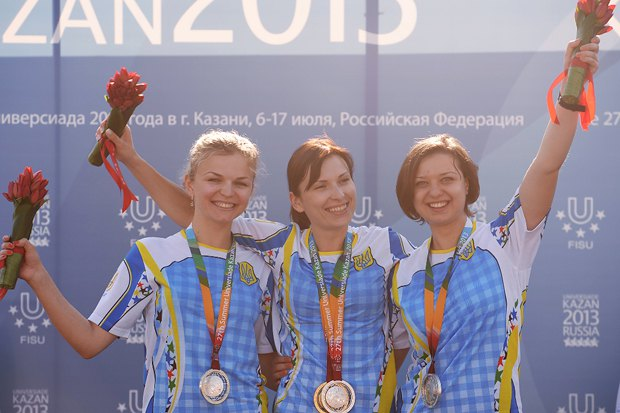 Елена Костевич победила в стрельбе из пистолета с 25 метров и помогла сборной стать серебряной в командном зачете