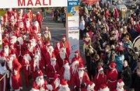 В Финляндии состоялись соревнования Санта-Клаусов