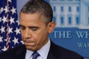 Рейтинг Обамы упал до рекордно низкого уровня