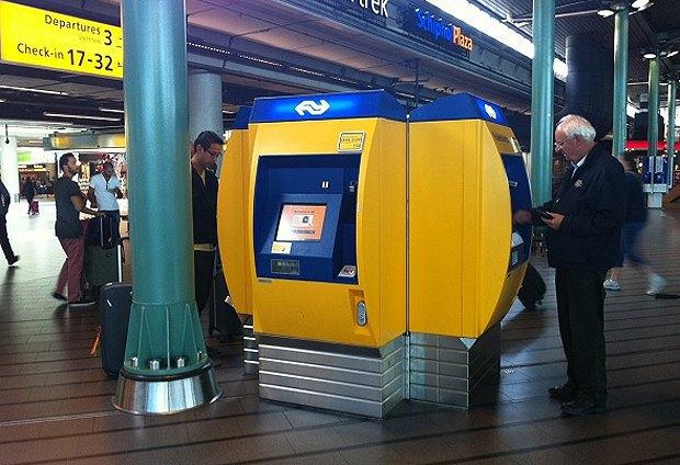 Автомати з продажу квитків в Нідерландах