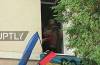 """Аваков: полиция пошла на штурм офиса """"ОУН"""" из-за человека с гранатометом в окне здания"""