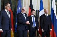 Главы МИД Украины Германии, Франции и России встретятся в Берлине 6 ноября
