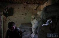 За минувшие сутки на Донбассе 15 обстрелов, погиб украинский военный