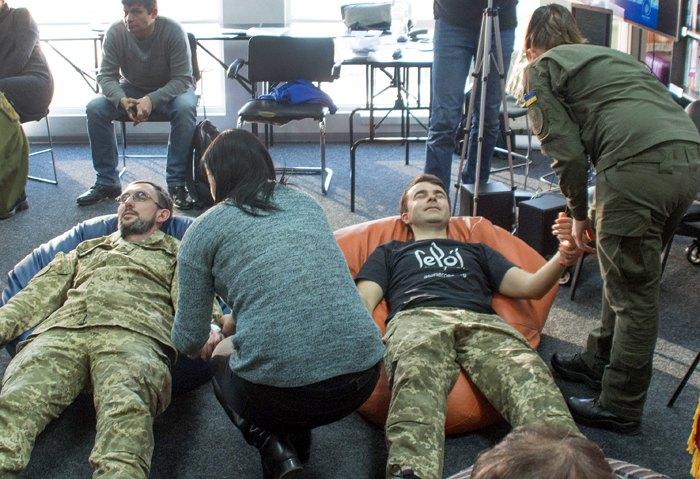 Реабілітаційний тренінг для ветеранів та бійців «Психосоматичний компонент декомпресійної програми»