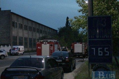 На АЗС в Черниговской области произошел взрыв с пожаром