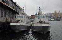 """В Одесі тривають випробування катерів """"Кентавр"""", які патрулюватимуть Азово-Чорноморський регіон"""