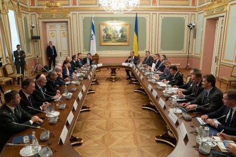 Аваков обговорив з Нетаньягу проблему перетину українцями ізраїльського кордону