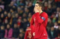 Роналду впервые c 2016 года не нанес ни одного удара за матч