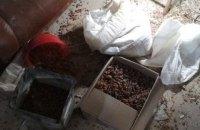 У Луцьку правоохоронці вилучили 74 кг бурштину