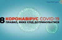 СНБО представил 8 правил для предотвращения распространения коронавируса