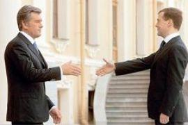 Медведев поздравил Ющенко с Новым годом