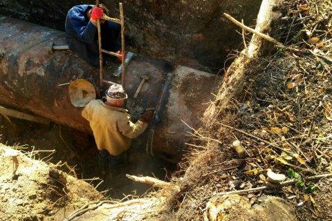 В Авдеевке отремонтировали поврежденный Юго-Донбасский водовод