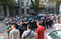 Полиция открыла два дела из-за инцидента с автомобилем Пинзеника в Киеве