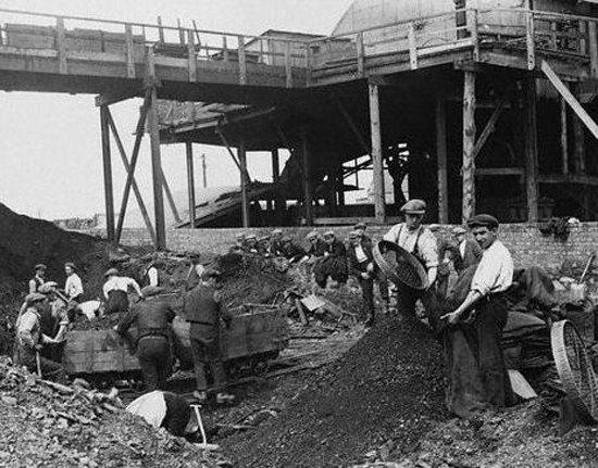 Шахта в Престоні,1926 р.
