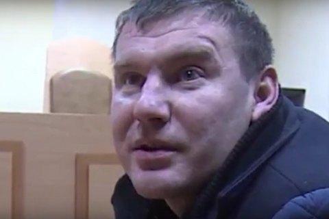 Суд арестовал на два месяца одного из участников избиения правоохранителя у Рады