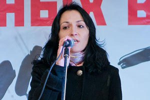 Дружина Удальцова не втікала в Україну