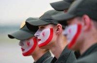 """Украинские пограничники разрисовали лица в цвет """"Ливерпуля"""" (обновлено)"""