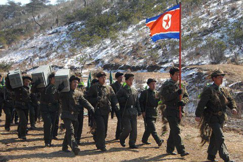 Войска КНДР на границе с Южной Кореей приведены в полную боеготовность