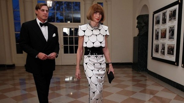 Анна Винтур в Белом Доме