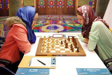 Анна Музычук не смогла выиграть чемпионат мира по шахматам
