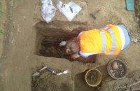 Раскопки на месте памятника воинам УПА в Грушовичах завершились