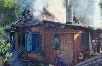На Харківщині у пожежі постраждали мати з двотижневим немовлям