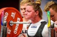 Украинка Татьяна Мельник установила мировой рекорд в жиме лежа
