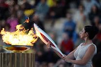 Огонь ХХІ Олимпийских игр прилетел в Москву