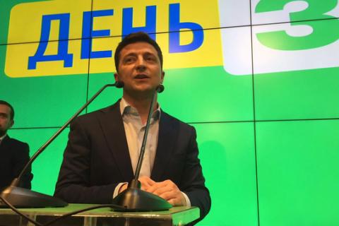 Першим завданням на посту президента Зеленський назвав повернення військовополонених