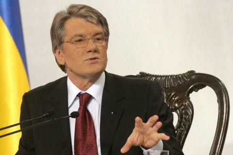 Ющенко: Гройсману рано в президенти