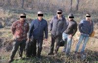 В Харьковской области пятеро нелегалов пытались выехать в Россию в грузовом поезде